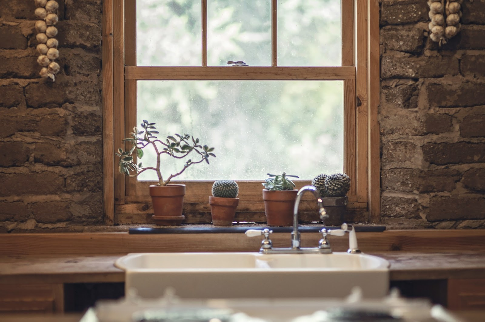 Finestre sull 39 autunno shabby chic interiors - Finestre in legno bianche ...
