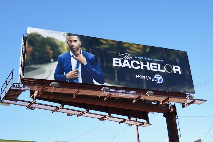 Matt James Bachelor season 25 billboard