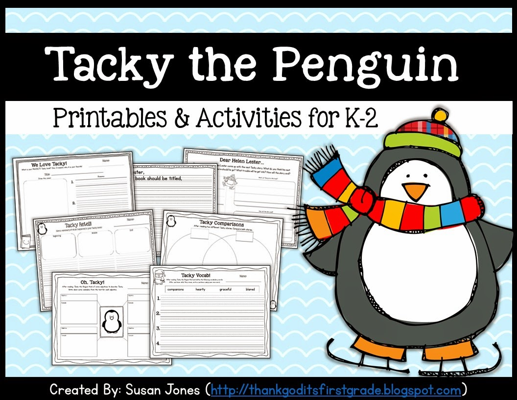 Tacky The Penguin Activities