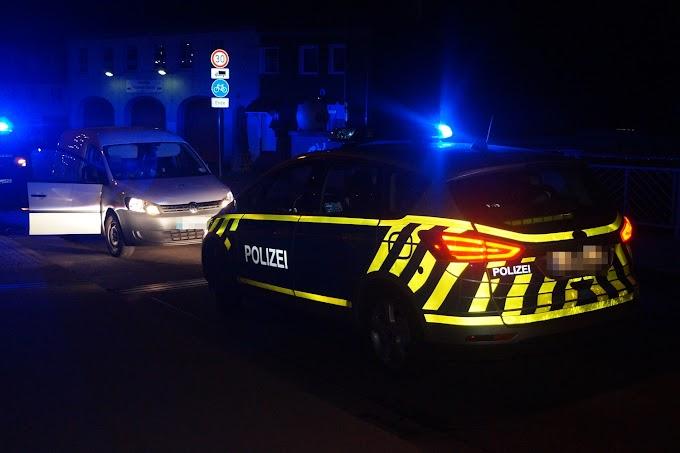 Fahrzeug erfasst Person in Raguhn