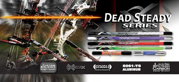 Les Stabilisations Dead Center Archery - La gamme Diamond Series Dead%2Bsteady%2Bhome