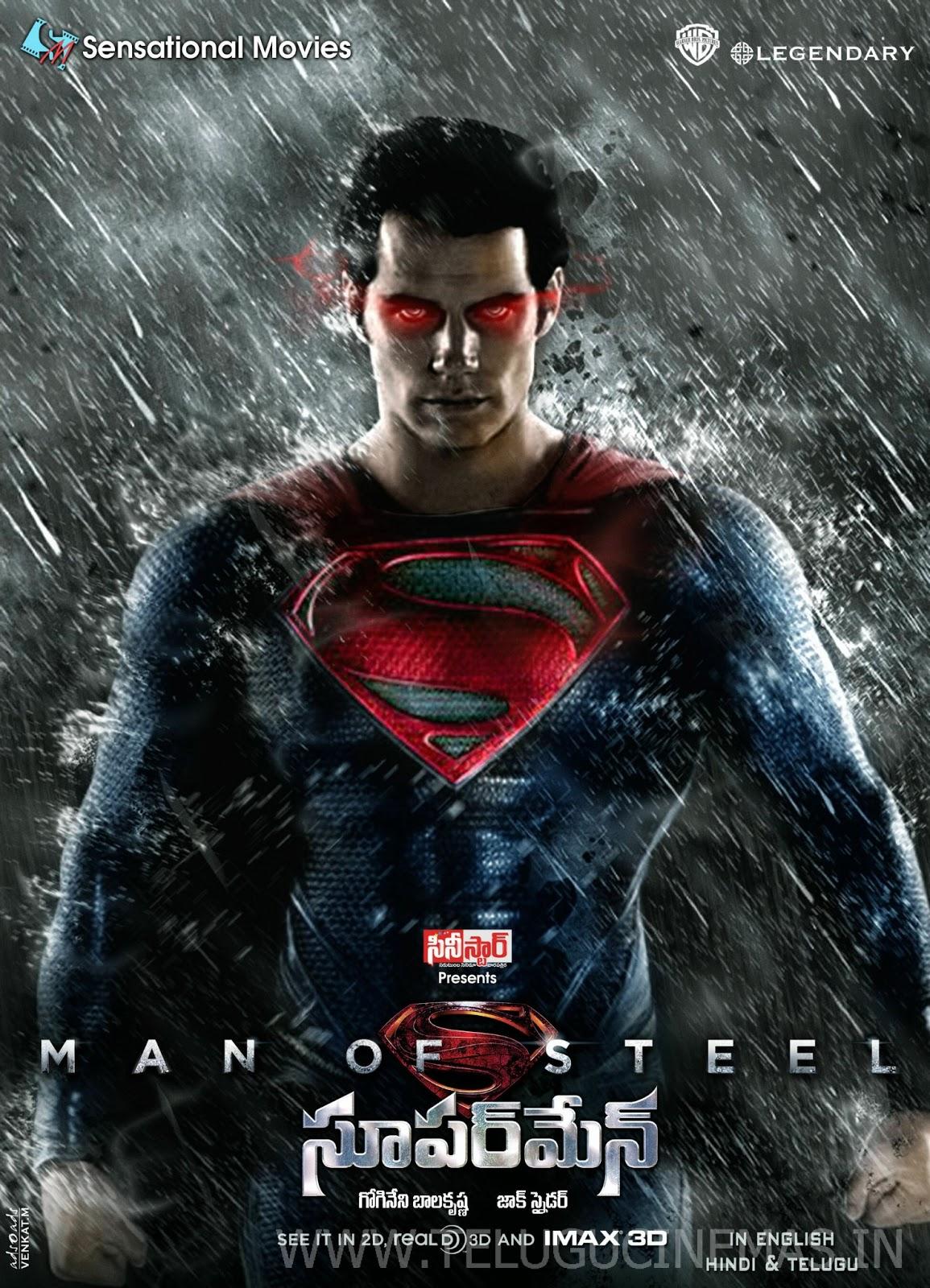 Superman Movie Wallpapers 2013 Posters 2013 - TeluguCinemas