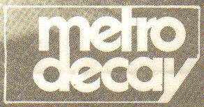 Metro Decay - greek rock - dark - new wave