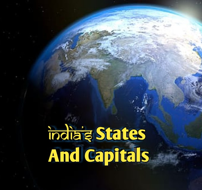 India States and their Capitals list 2020 |  Union Territories of India in 2020