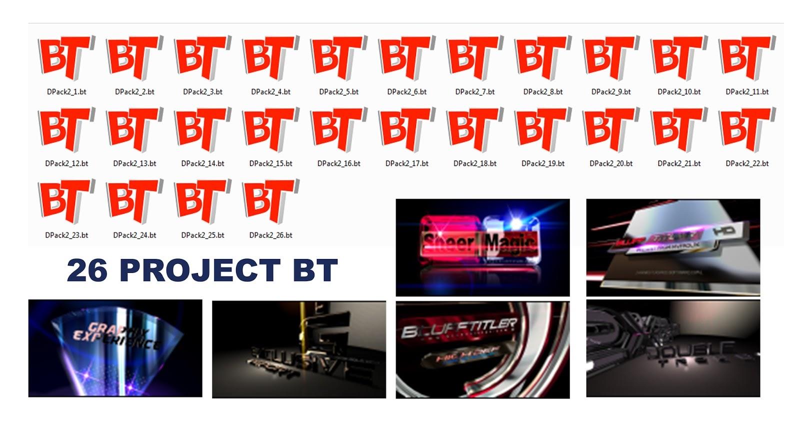 project blufftitler