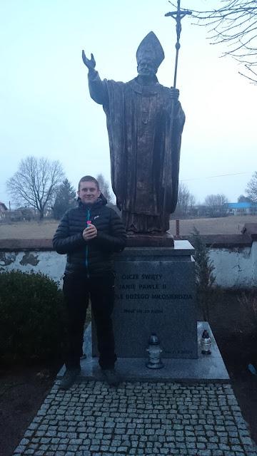 Pomniki Jana Pawła II - Prażmów