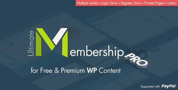 Free Ultimate Membership Pro 5.5 WordPress Plugin