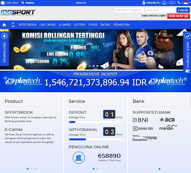 IOGSPORT BANDAR ONLINE TERPERCAYA di INDONESIA