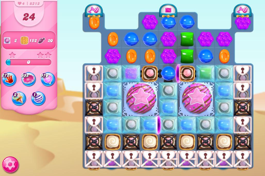 Candy Crush Saga level 8212