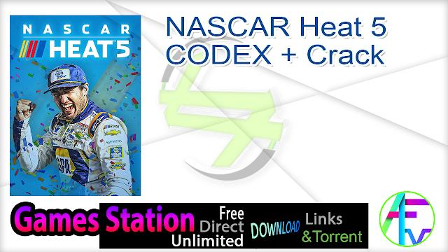 NASCAR Heat 5-CODEX + Crack