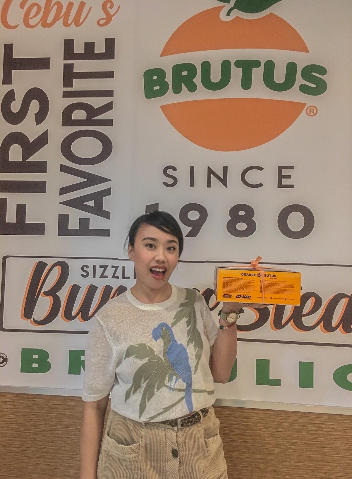 Orange Brutus Cebu Blogger