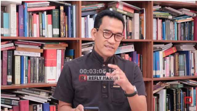 Jawab Arief Poyuono, Refly Harun: Anies Hanya Bisa Dinonaktifkan Jika...