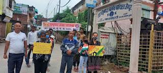 राज कॉलेज के स्वयंसेवकों ने मनाया आज़ादी का अमृत महोत्सव | #NayaSaberaNetwork