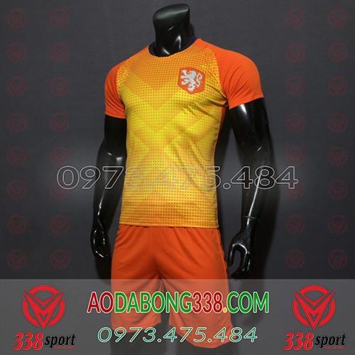 Áo Đội Tuyển Hà Lan Cam 2020 Training 2