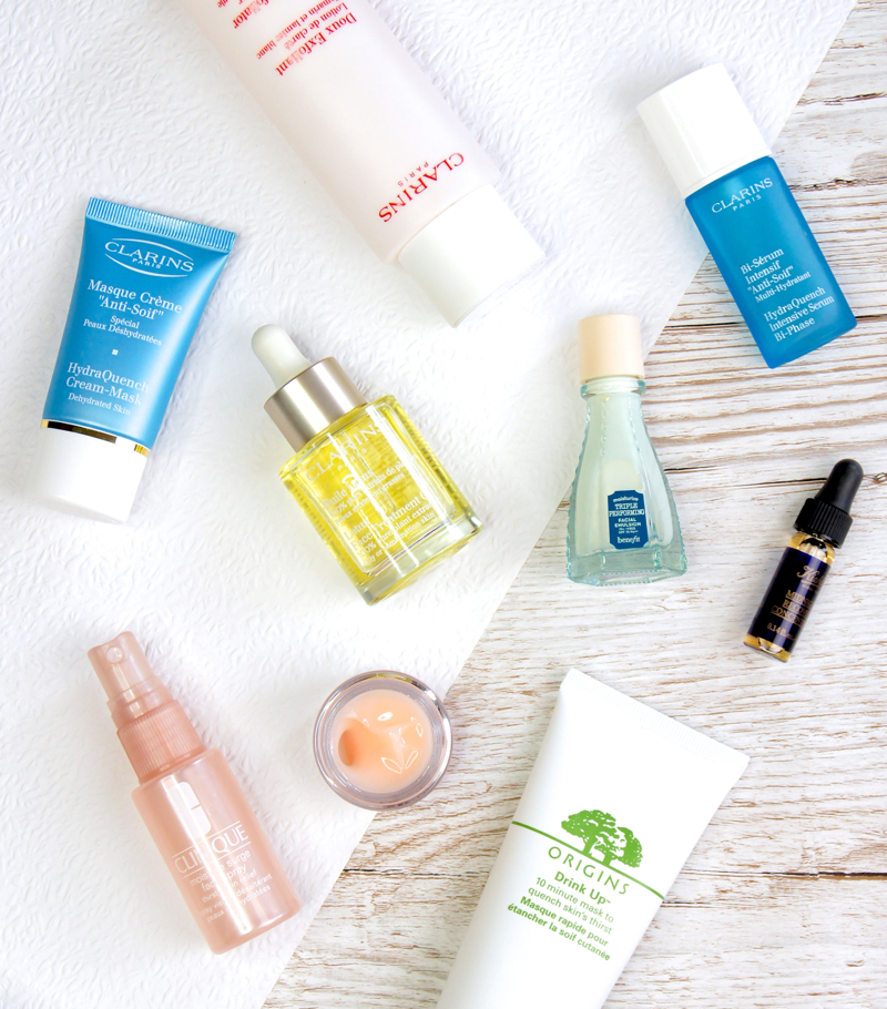 skincare recommendations for keeping skin hydrated not greasy during summer
