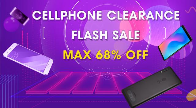 Cellphone Clearance - Promoção Smartphones na Tomtop