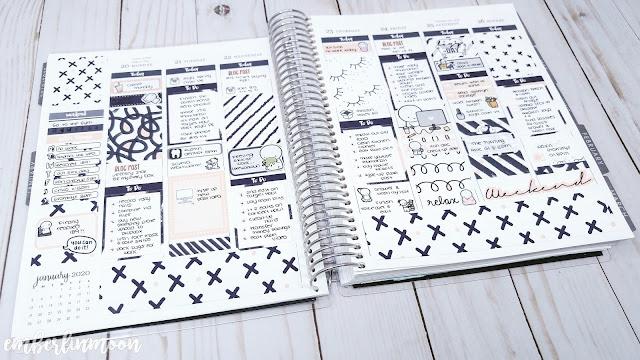 Plan with Me: Ft. Raspberyl Designs | January 20th - January 26th