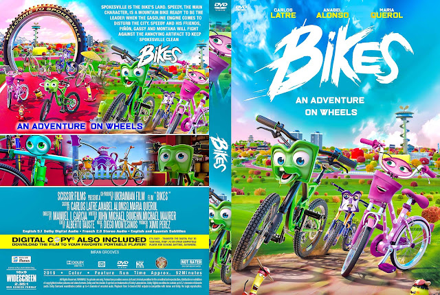 Bikes DVD Cover