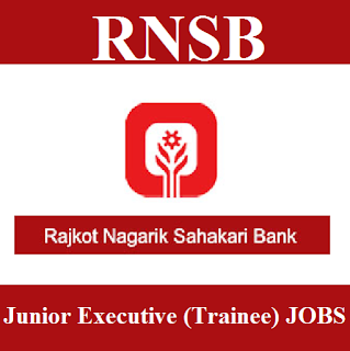 Rajkot Nagarik Sahakari Bank, RNSB, Gujarat, Graduation, Bank, Junior Executive, freejobalert, Sarkari Naukri, Latest Jobs, rnsb logo