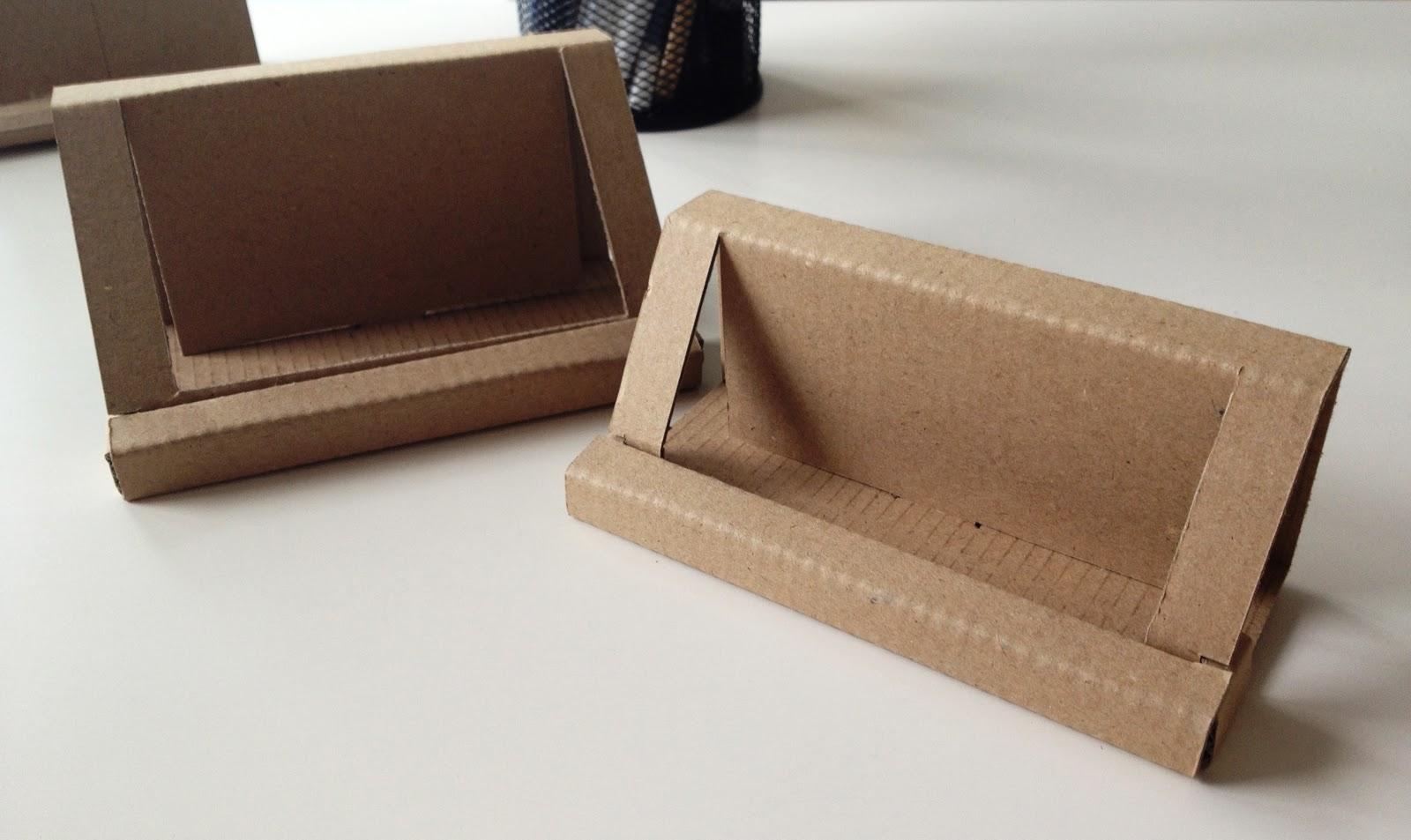 Cardboard Business Card Holder Reloaded