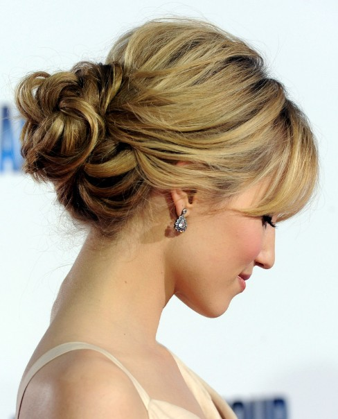 Latest Hairstyles Loose Buns 2013 Trends Fashion Photos