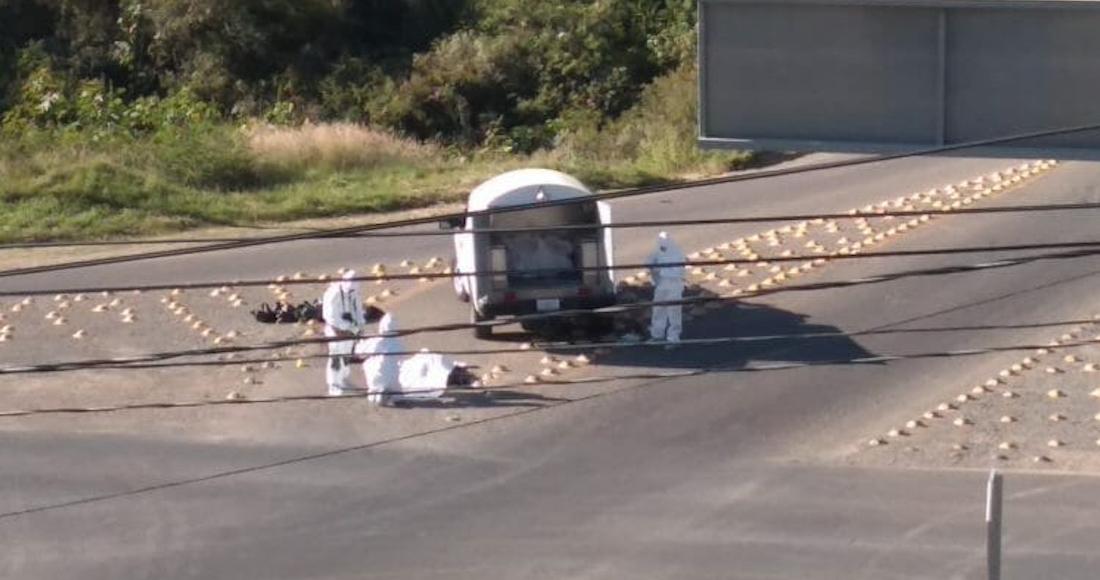 En menos de 24 horas, bolsas con cuerpos descuartizados son abandonadas en diferentes puntos de Guanajuato y Jalisco