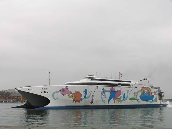 美圖好文: 基隆→花蓮麗娜輪首次試航