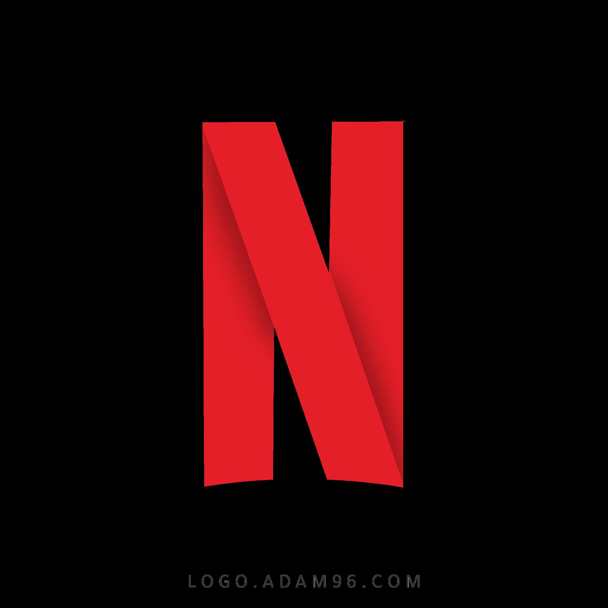 تحميل شعار نتفليكس شفاف Logo Netflix PNG