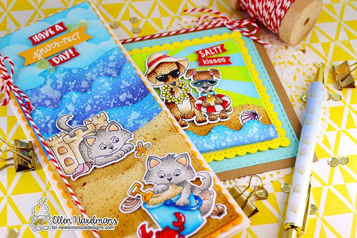 #newtonsnook #newtonsnookdesigns #handmadecard #cardmaking #stamping #hellocard #friendshipcard #landbordersdieset #thermoweb #glitzglittergel #nnd #card #cardmaking #handmade #stampset #dieset #paperart #hobby #drawing #copicmarkers #copicciao #copiccoloring #summercard  #beachcard #KittenBeachstampset #BeachBarksstampset