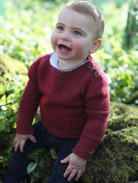 The photographs were taken earlier this month by The Duchess of Cambridge at their home in Norfolk. Princess Charlotte and Prince George