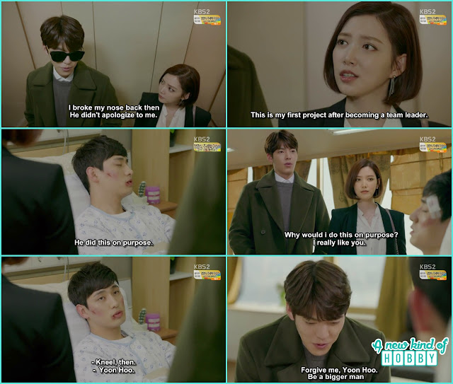 joon young kneeled infront of joon ho and say sorry - Uncontrollably Fond - Episode 13 Review