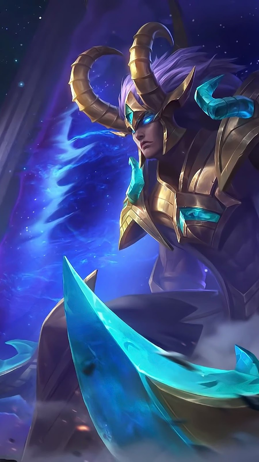 Wallpaper Martis Capricorn Skin Mobile Legends HD for Android and iOS