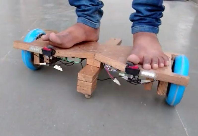 Como hacer un hoveboard casero f cil de hacer for Mecanismos de estores caseros