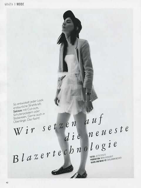 Mijo M. / Grazia Magazine / 9