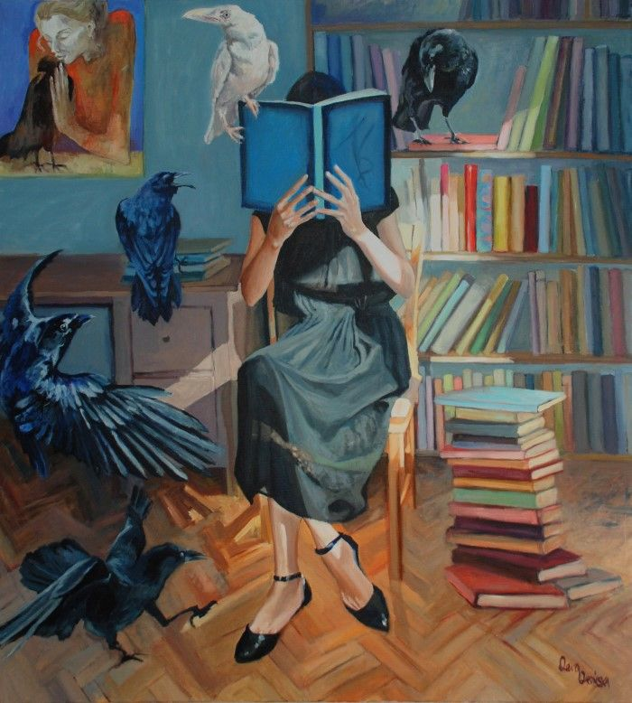 Польский художник. Katarzyna Oronska