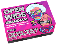 Open Wide Grandma - The Best Adults Games and Board Games to Play at a Party