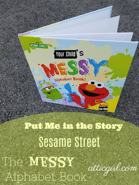 Sesame Street books, personalized gifts, personalized books, Put Me in the Story, children's books