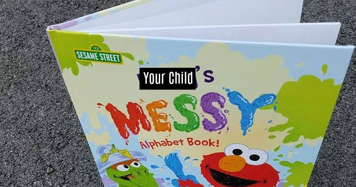 Sesame Street: The Messy Alphabet Book @putmeinthestory