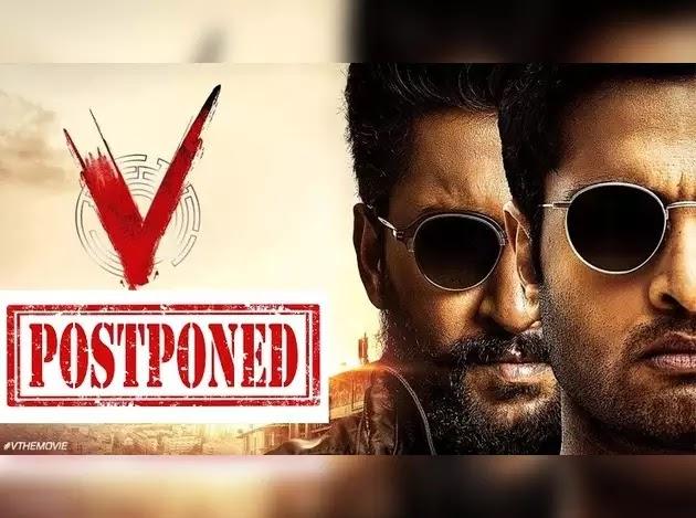 Nani V Movie: Corona Effect Nani V Movie Postponement, Again Anyway