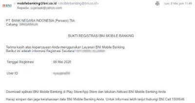cara mencairkan insentif prakerja di bni -email mobile banking bni