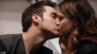 Chris Wood's girlfriend Melissa Benoist