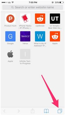 Cara Membuka Tab yang Baru Ditutup [Recent] di Safari di iPhone atau iPad, Begini Caranya