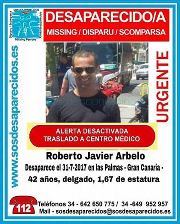 Alerta desactivada por desaparición de hombre  en Las Palmas de Gran Canaria