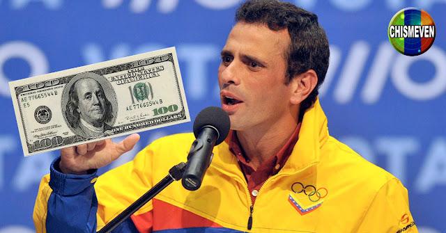 Capriles propone Bono de 100 Dólares para cada familia durante la Pandemia