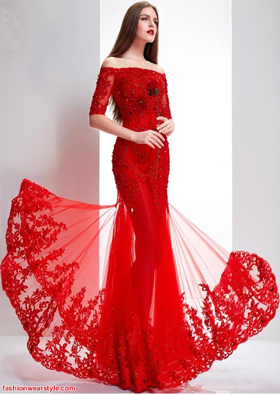 Special Valentine's Day Dress 2016 www.fashionwearstyle.com