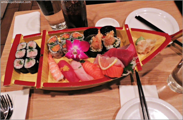 Restaurante Japonés de Kendall Square: Boat 1* (24 pcs)   $42