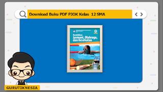 download ebook pdf  buku digital pjok kelas 12 sma/ma