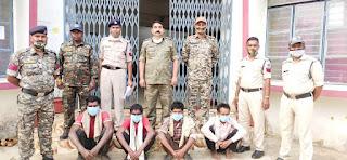 स्थाई वारंटीयों पर शाहपुरा पुलिस की 1 और बड़ी कार्यवाही 4 वारंटी गिरफ्तार