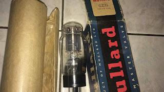 Mullard GZ32 Rectifier tube (sold) Mullard%2BGZ32