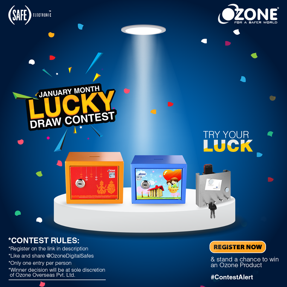 January Lucky Draw contest Win cool products | Free Stuff